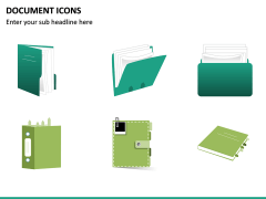 Document Icons PPT Slide 16