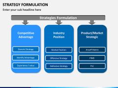 Strategy Formulation PPT slide 6