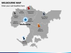 Melbourne Map PPT Slide 3