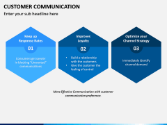 Customer Communication PPT Slide 13