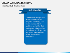 Organizational Learning PPT Slide 1