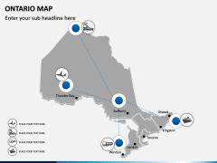 Ontario Map PPT Slide 6