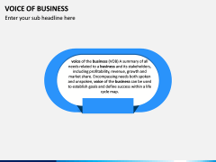 Voice of Business PPT Slide 1