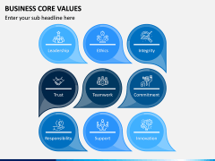 Business Core Values PPT Slide 3