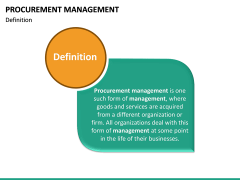 Procurement Management PPT Slide 17
