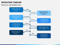 Recruiting Timeline PPT Slide 8