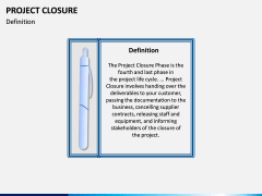 Project Closure PPT Slide 1