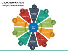 Circular ORG Chart PPT Slide 30
