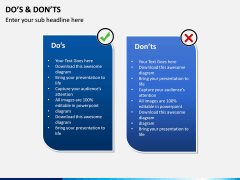 Do's and Don'ts PPT slide 8