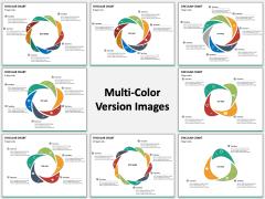 Circular Chart PPT slide MC Combined