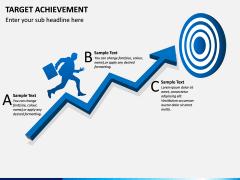 Target Achievement PPT slide 3