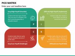 PICK Matrix PPT Slide 11