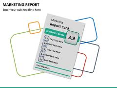 Marketing report PPT slide 13