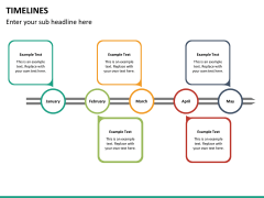 Timeline bundle PPT slide 84