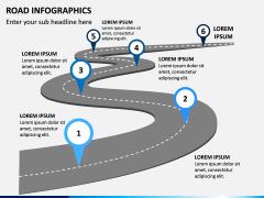 Road Infographics PPT Slide 2
