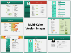 Resume Multicolor Combined