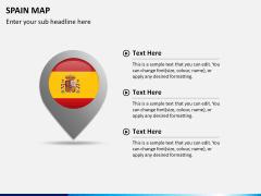 Spain map PPT slide 18