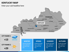 Kentucky Map PPT Slide 11