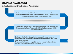 Business Assessment PPT Slide 13
