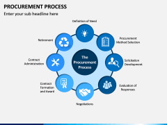 Procurement Process PPT Slide 1