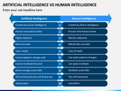 Artificial Vs Human Intelligence PPT Slide 5