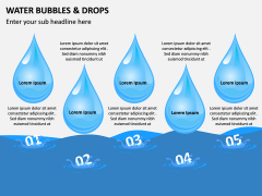 Water Bubbles and Drops PPT Slide 13