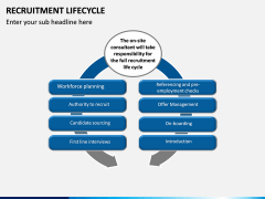 Recruitment Life Cycle PPT slide 8