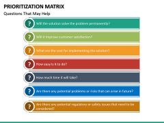 Prioritization Matrix PPT Slide 17