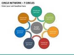 Circle Network – 7 Circles PPT slide 2