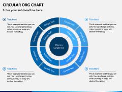 Circular ORG Chart PPT Slide 7