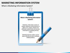 Marketing Information System PPT Slide 1