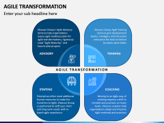 Agile Transformation PPT Slide 2
