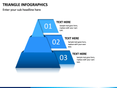 Triangle Infographics PPT Slide 16