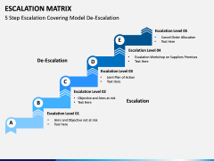 Escalation matrix PPT slide 7
