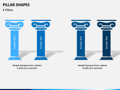 Pillar Shapes PPT Slide 9