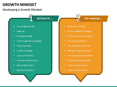 Growth Mindset PPT Slide 21