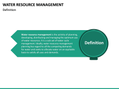 Water Resource Management PPT slide 19