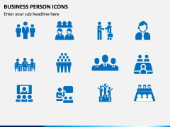Business Person Icons PPT Slide 6