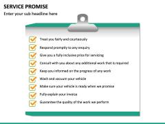 Service Promise PPT slide 16