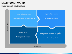 Eisenhower Matrix PPT Slide 8