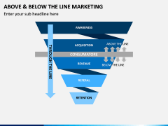 Above and Below the Line Marketing PPT Slide 9