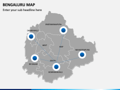 Bengaluru Map PPT Slide 6