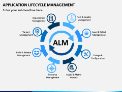 Application Lifecycle Management PPT Slide 1