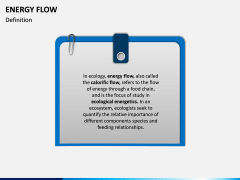 Energy Flow PPT Slide 1