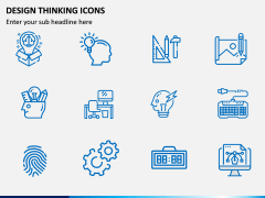 Design Thinking Icons PPT Slide 4