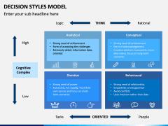 Decision Style Model PPT Slide 13