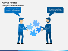 People Puzzle PPT Slide 6