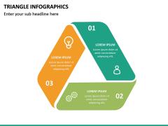 Triangle Infographics PPT Slide 19