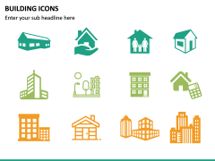 Building Icons PPT Slide 21