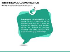 Interpersonal Communication PPT Slide 14